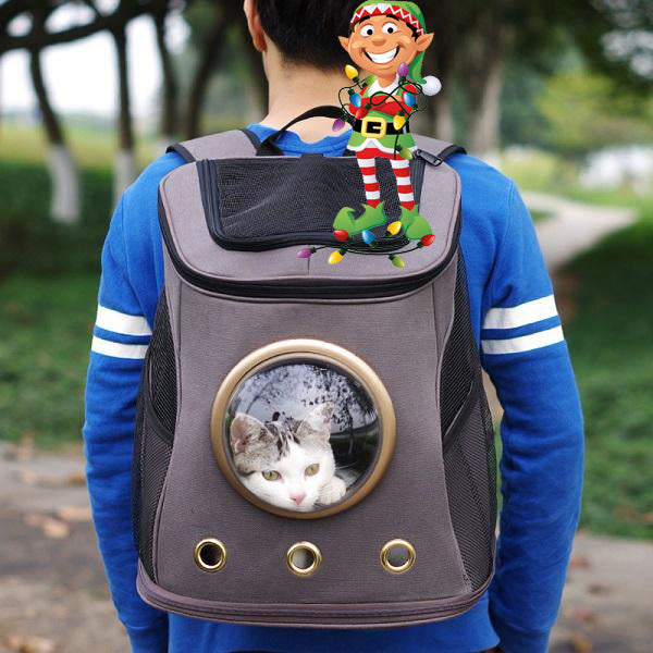 Your Cat Backpack Christmas