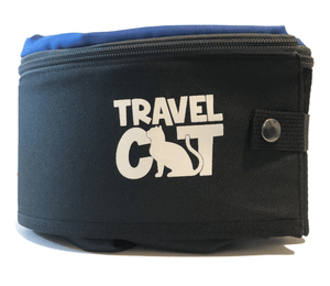 """The Gotta Go"" Travel Litter Box and Retractable Leash Set"