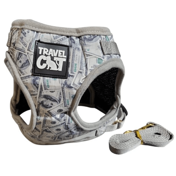 """Cash Cat"" Limited Edition Harness & Leash Set"