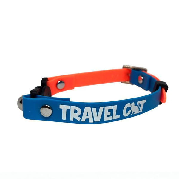 """The Fancy Cat"" Silicone Breakaway Collar"