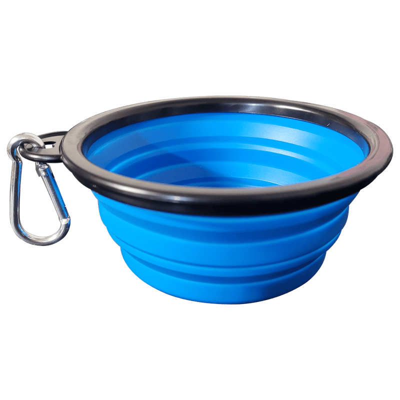 """The Go Anywhere Bowl"" Collapsible Travel Pet Food and Water Dish For Cats"