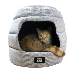 """The Meowbile Home"" Convertible Cat Bed & Cave"