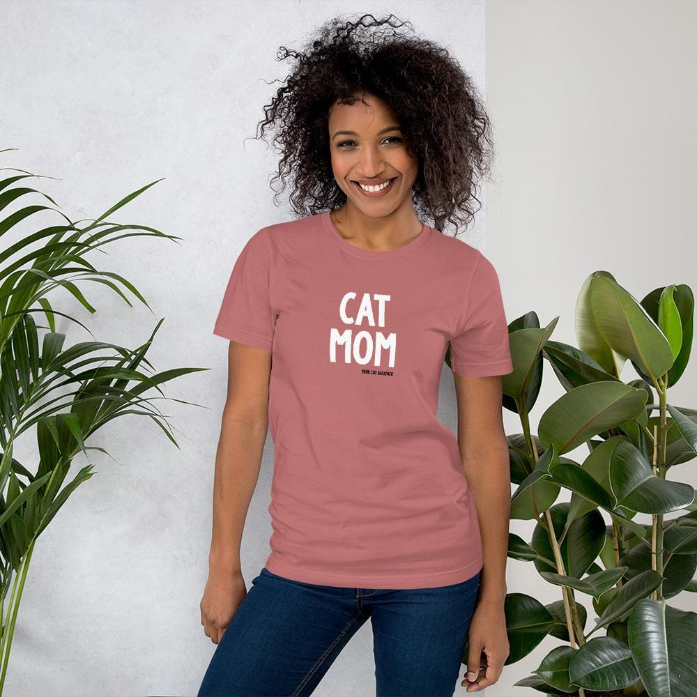 Image of Cat Mom Short-Sleeve Unisex T-Shirt