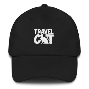 Travel Cat Dad Hat