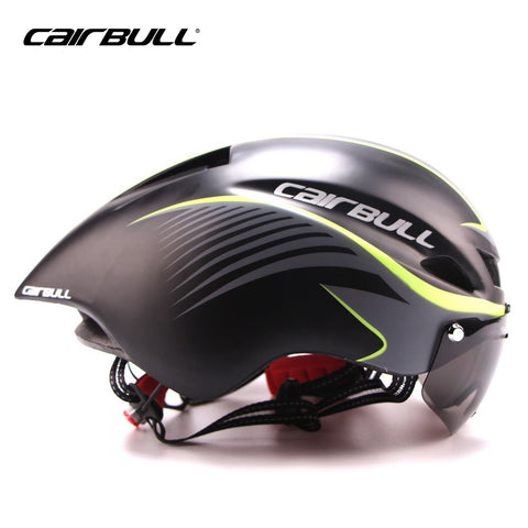 CAIRBULL Cycling Aero Helmet With Goggles