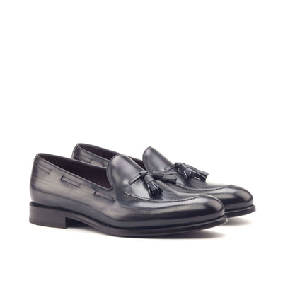 Loafer | Grey Crust Patina - Dapper Lane