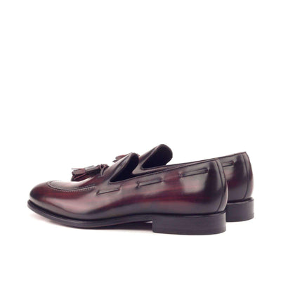Loafer In Burgundy Crust Patina
