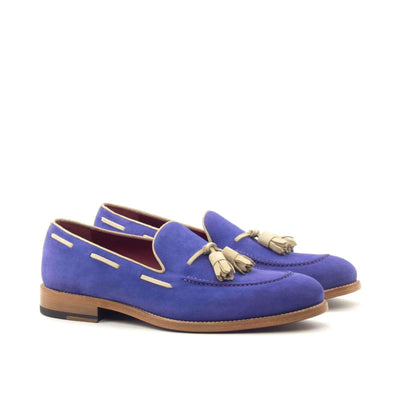 Loafer In Purple Suede