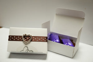 Chocolate Box in White