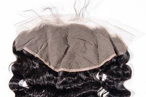 Grandiose Hair Wavy Frontal Back Closeup