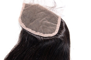 Grandiose Hair Straight Closure Lace View