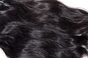 Grandiose Hair Indian Straight Closeup