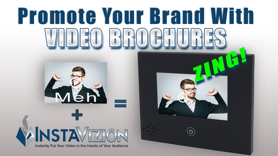 Promote Your Company Brand with Video Brochures