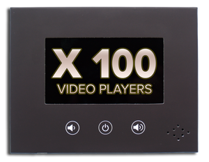 "100 InstaVizion 4"" Screen Video Players"