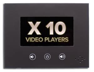 "10 InstaVizion 4"" Video Players"