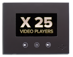 "25 InstaVizion 4"" Screen Video Players"