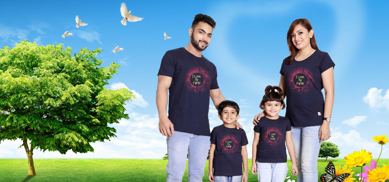 Matching Family T-Shirts: A Perfect Way to Express your Love to your Family