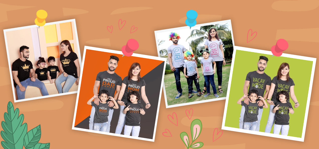 9 Best Matching Family T-Shirt Ideas to rock on Family Outings
