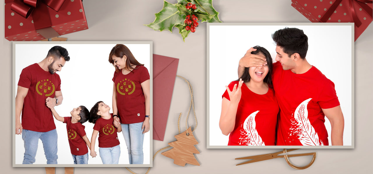 Greatest Family & Couples T-Shirt Ideas to Rock on Upcoming Christmas Party