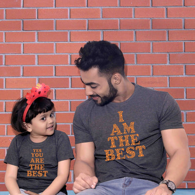 Matching Dad Daughter T-Shirts