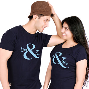 U & ME WOMEN Couple T-Shirts