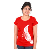 Feather matching combo tees