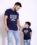 Man and Mini boss T-Shirts