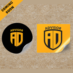 Advisor stickers