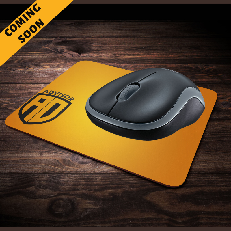 Advisor mouse pad
