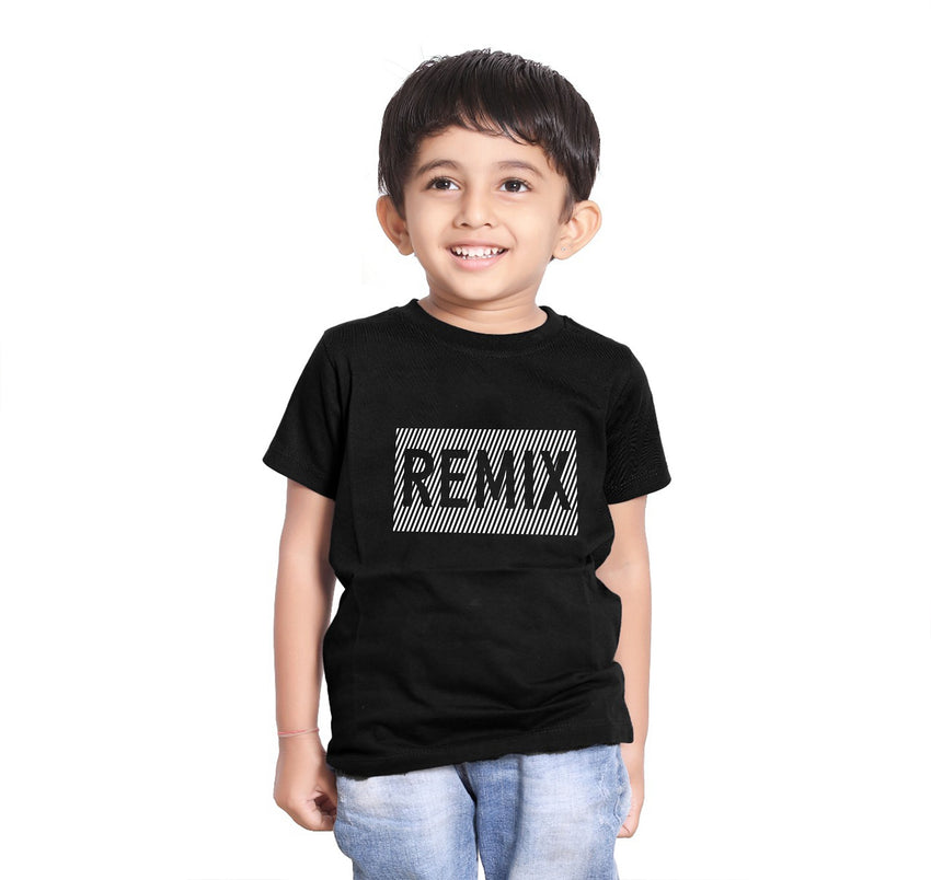 Remix black matching son