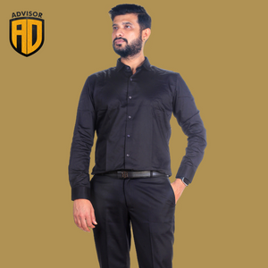Advisor black shirt