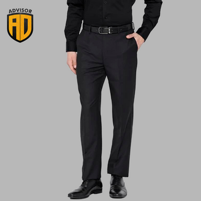 Advisor black trousers