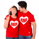 KING AND QUEEN RED