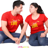 Just_ love_ couple _tees