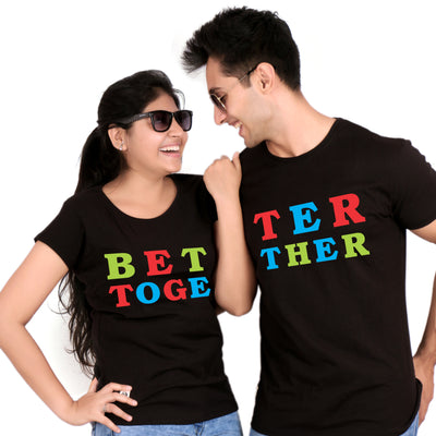 Better Together Matching Couple Tees