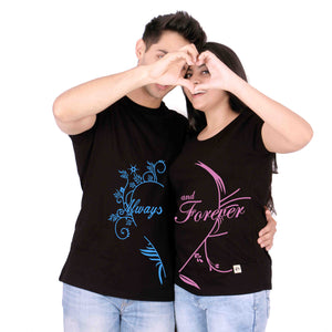 Always Forever Couple Tees