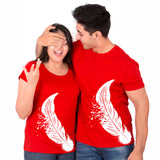 Feather Matching Couple Tees