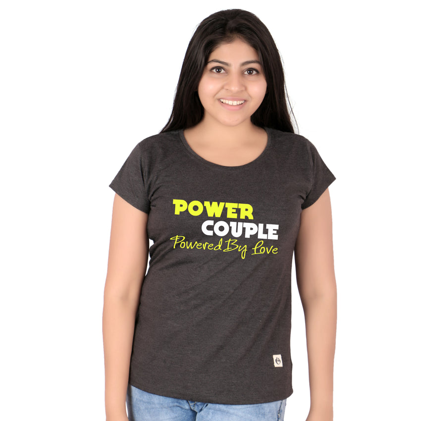 POWER COUPLE T-SHIRTS