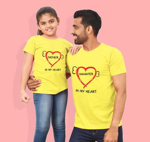 Daughter in my heart matching tees