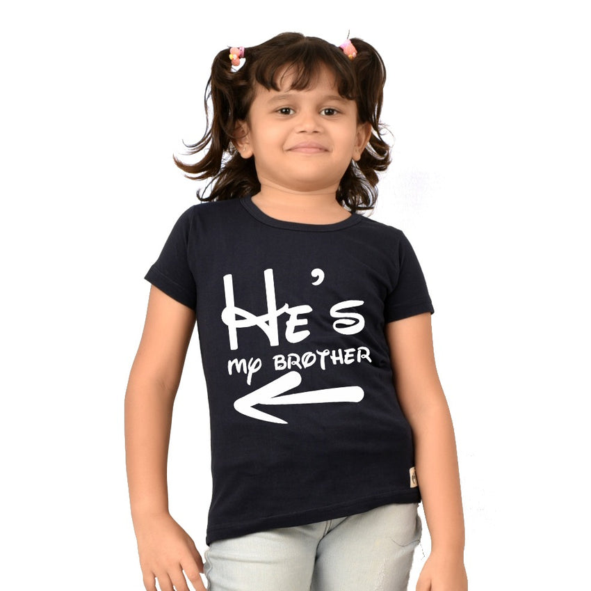 He is my brother t-shirts