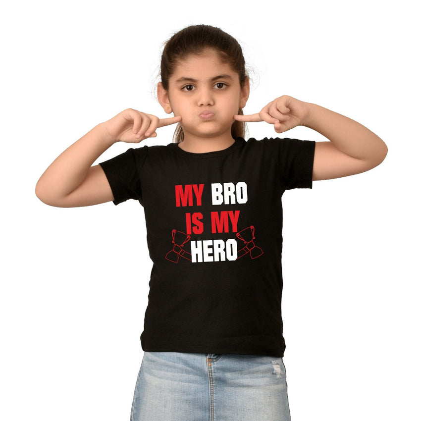 my bro is my hero t-shirts