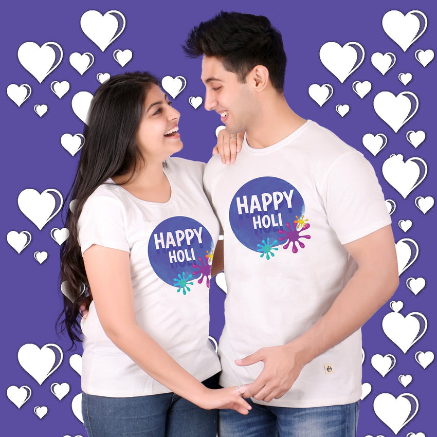 Happy Holi Couple