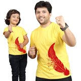 Yellow Matching Dad Daughter T-Shirts