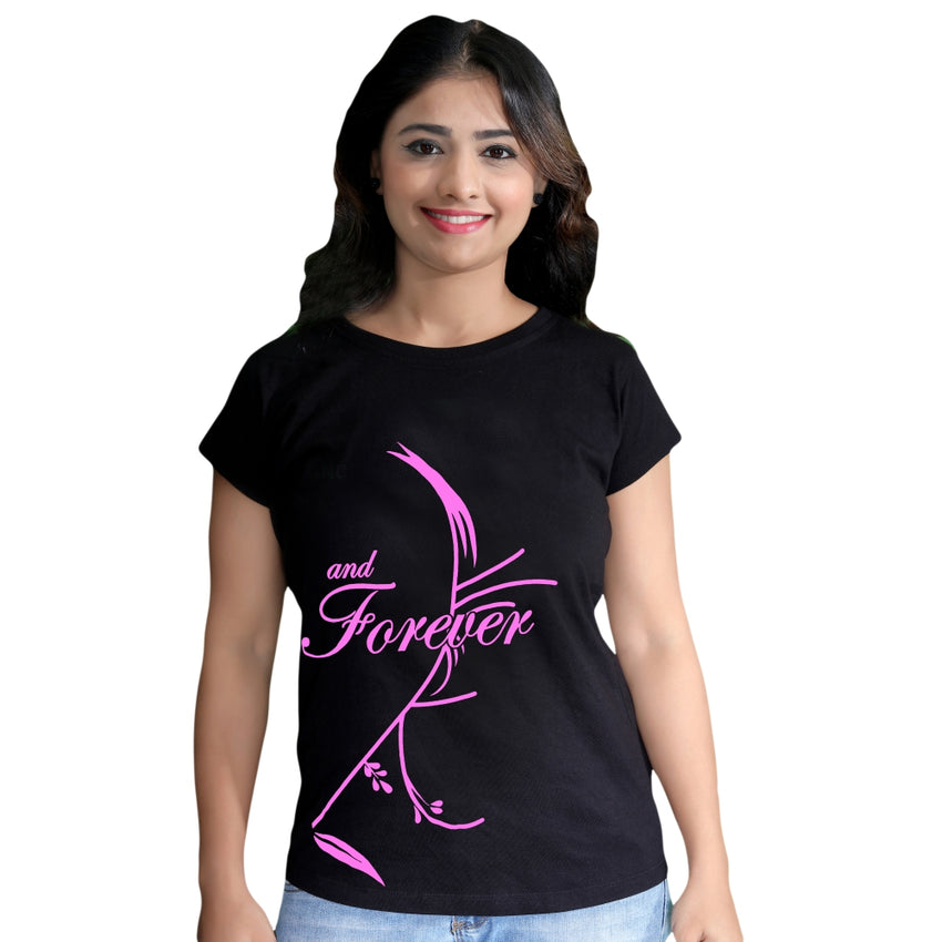 women wearing family tshirts