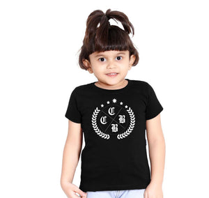 OLIVE LEAF DAUGHTER BLACK TEES