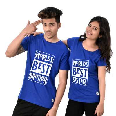 World best brother and sister T-Shirts
