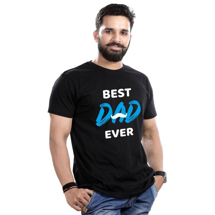 Best dad ever (b),Matching dad-son tees