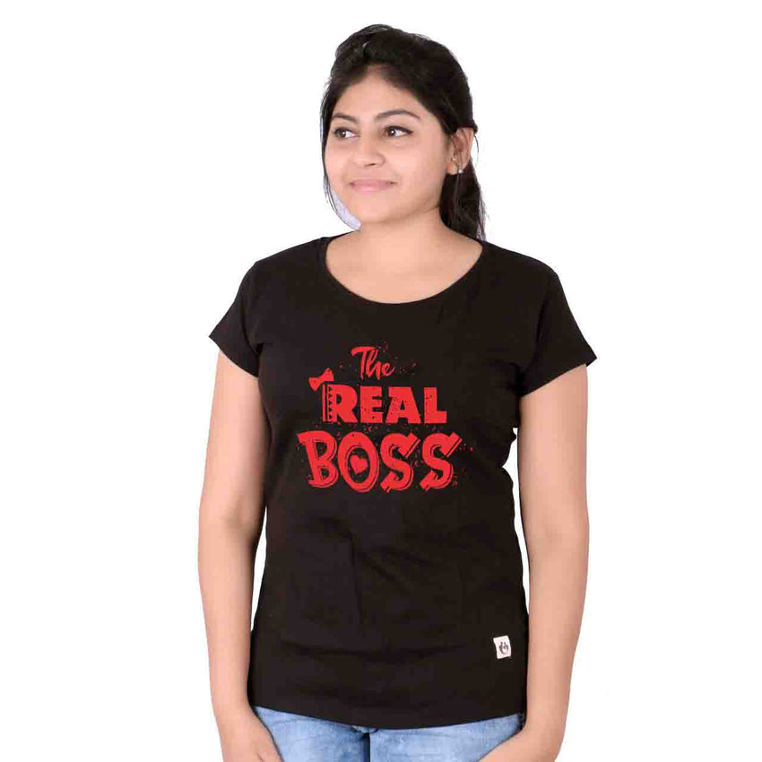 The Boss & The Real Boss Matching Tees