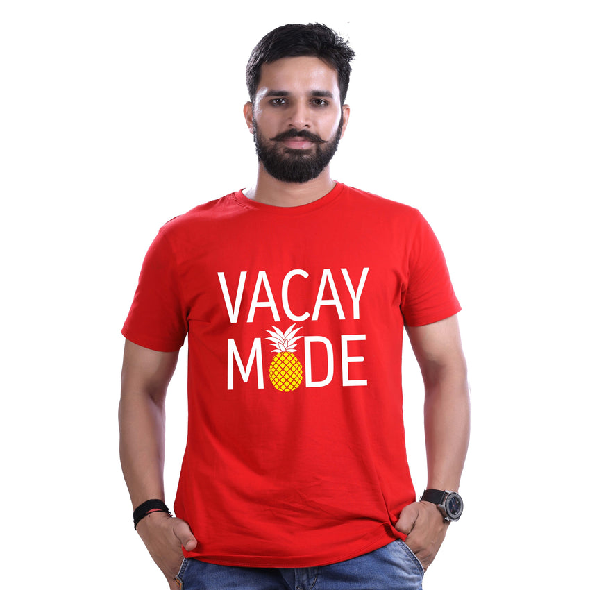 vacay mode men red