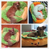 The Hot Dog Bed and Pet Sofa